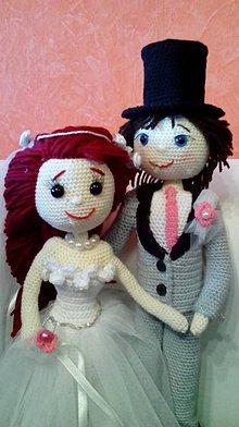 Darčeky pre svadobčanov - Svadobný pár - 7486427_
