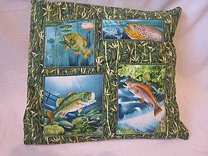 Úžitkový textil - Poduška pre rybárov - 7487154_