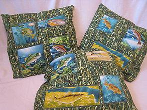 Úžitkový textil - Vankúš pre náruživých rybárov - 7487180_