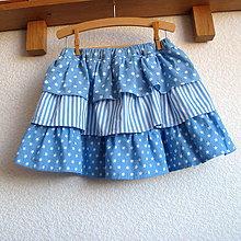 Detské oblečenie - Puntík, proužek, hvězdička - 7488576_