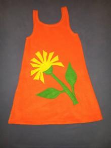 Detské oblečenie - Šaty = púpava - 7485791_