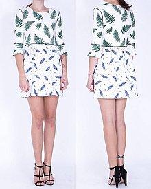 Šaty - Krátke úpletové šaty - 7487638_