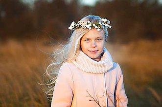 Ozdoby do vlasov - Zimný venček - 7489662_