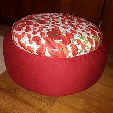 Úžitkový textil - N'Joy sedák -divé maky - 7494433_