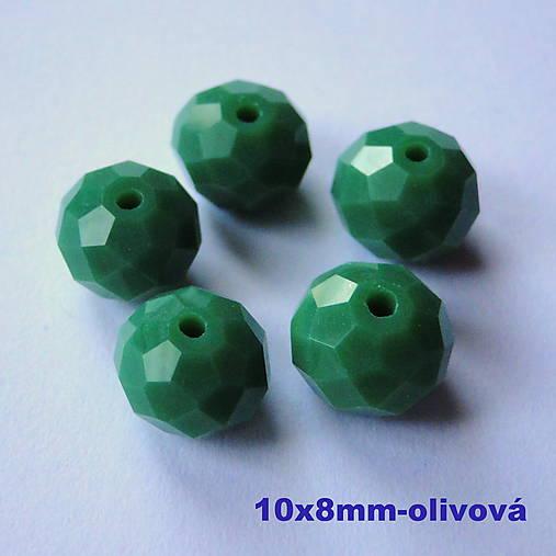 Skl.rondelka 10x8mm-1ks