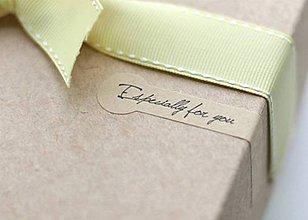 Papier - Samolepky Especially for you - 7492239_