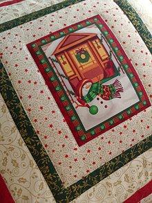 Úžitkový textil - Vankúš *Vianoce* - 7493573_