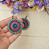 - Pottery earrings n.32- vyšívané náušnice - 7493779_