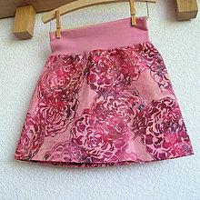Detské oblečenie - Sukýnka 116/122 - 7493219_