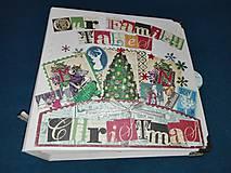 Papiernictvo - Rozprávkový vianočný fotoalbum - 7491445_