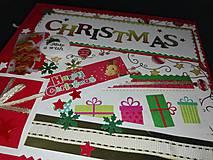 Papiernictvo - Vianočný fotoalbum pre dieťa - 7491466_