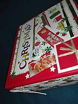Papiernictvo - Vianočný fotoalbum pre dieťa - 7491469_