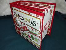 Papiernictvo - Vianočný fotoalbum pre dieťa - 7491470_