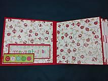 Papiernictvo - Vianočný fotoalbum pre dieťa - 7491472_