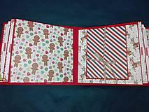 Papiernictvo - Vianočný fotoalbum pre dieťa - 7491473_
