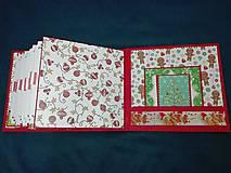 Papiernictvo - Vianočný fotoalbum pre dieťa - 7491474_