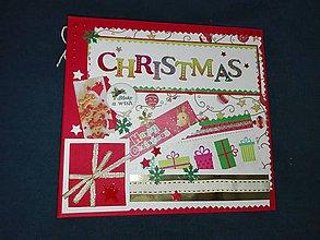 Papiernictvo - Vianočný fotoalbum pre dieťa - 7491465_
