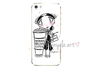 Na mobil - CHANEL MAMMA phone case - 7493129_