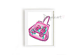 Obrazy - DOLCE & GABBANA BAG framed print - 7494685_