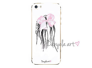 Na mobil - BOWIE PONYTAIL HAIRSTYLE phone case - 7494711_
