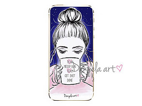 Na mobil - MESSY BUN GET SHIT DONE phone case - 7494718_