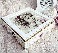 Krabičky - Vintage šperkovnička - 7492332_