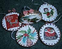 Dekorácie - vianočné malé - 7493558_