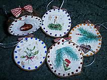 Dekorácie - vianočné malé - 7493559_