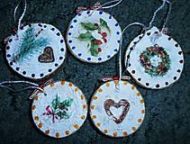Dekorácie - vianočné malé - 7493562_