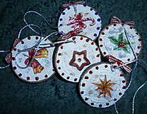 Dekorácie - vianočné malé - 7493563_