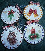 Dekorácie - vianočné malé - 7493564_