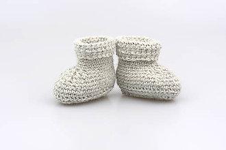 Topánočky - Sivé papučky EXCLUSIVE FINE - 7495210_