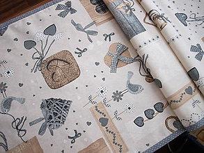 Úžitkový textil - ...štóla srdiečka... - 7493047_