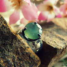 Prstene - Prsteň Serpentin fazet - 7493787_