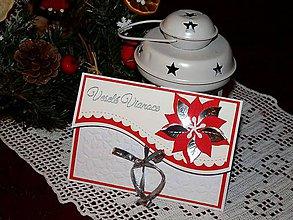 Papiernictvo - Vianočná obálka na peniaze - 7498543_