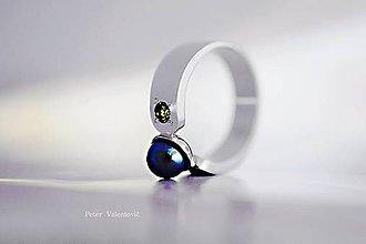 Prstene - Čierna perla - 7499879_