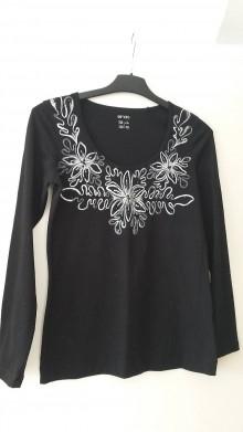 Tričká - Strieborné tričko - 7499196_