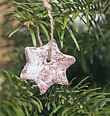 - Voňavé vianočné ozdoby bielené - 7495470_