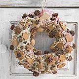 - Vianočný venček s voňavými ozdobami - 7495667_