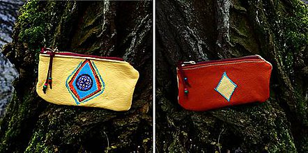 Peňaženky - sluneční peněženka - 7499811_