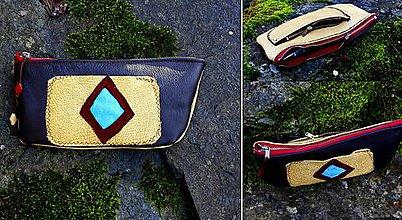 Peňaženky - kožená peněženka - 7499812_