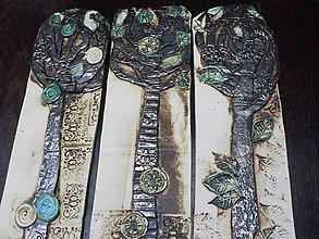 "Dekorácie - Triptych ""Stromoví""III - 7496800_"