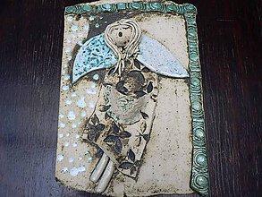 Dekorácie - Andělský kachel II. - 7498981_