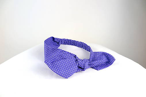 04930123b Čelenka s mašľou fialová / CHICLovely - SAShE.sk - Handmade Ozdoby ...