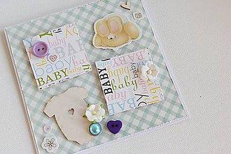 Papiernictvo - Detská pohľadnica pre chlapčeka - 7498763_