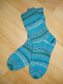 Obuv - Dámske ponožky z vlny v.36-37 - 7496000_