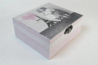Krabičky - Láska v Paríži - 7495233_