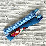 Úchopové hrkálky modré veselé