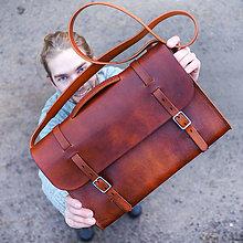"""Veľké tašky - Veľká  aktovka """"Hacker"""" 15.6 - 7498504_"""