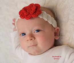 Detské doplnky - Čelenka na fotenie či bežné nosenie